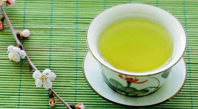 A tavola con il thè verde